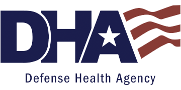Defense Health Agency (DHA) logo