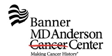 BANNER MD ANDERSON CANCER CENTER (BMDACC) logo