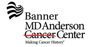 BANNER MD ANDERSON CANCER CENTER logo