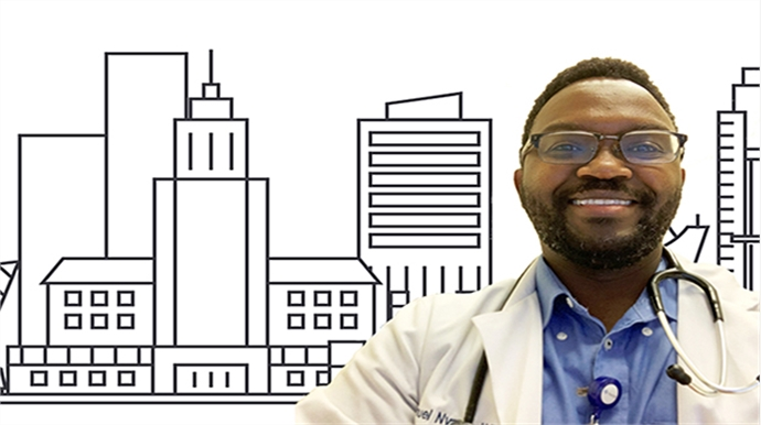 From South Dakota to LA: Doctor Shares Why Urban Medicine Suits Him