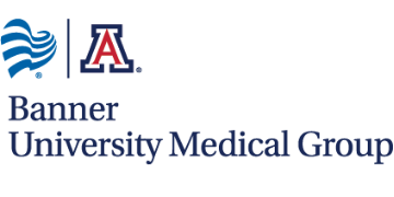 UNIVERSITY of ARIZONA and BANNER UNIVERSITY MEDICAL GROUP - TUCSON logo